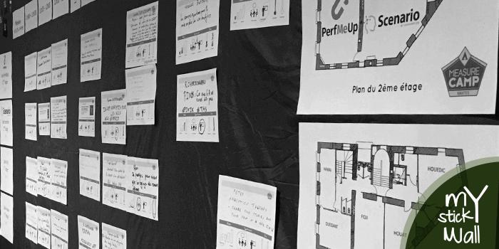 My Sticky Wall - Le mur collant qui permet de dynamiser vos réunions de travail collaboratifs quelque soit le lieu